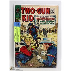 1966 # 89 TWO GUN KID KID COLT RAWHIDE KID KEY