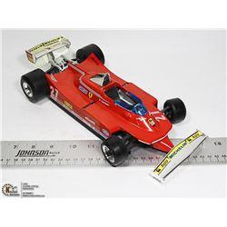 FERRARI 312 1/14 SCALE DIECAST RACING CAR