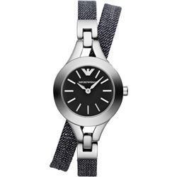 NEW EMPORIO ARMANI CANVAS BRACELET MSRP $253