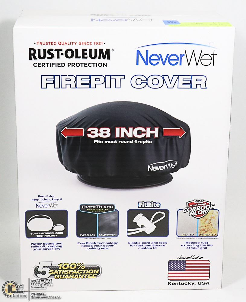 New Rust Oleum 38 Round Fire Pit Cover