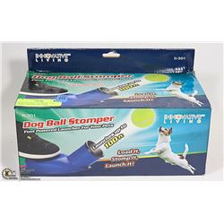 NEW DOG BALL STOMPER - FOR THOSE DAYS IN THE PARK