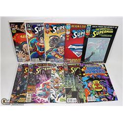 LOT OF SUPERMAN COMICS