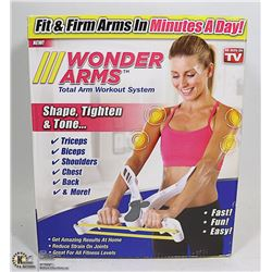 NEW WONDER ARMS TOTAL ARM WORKOUT SYSTEM