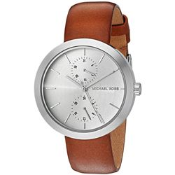 NEW MICHAEL KORS 39MM SILVER DIAL 2-CHRONO MSRP269