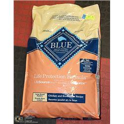 BLUE BUFFALO DOG FOOD CHICKEN + BROWN RICE