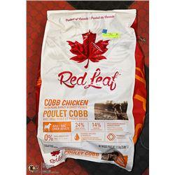 RED LEAF COBB CHICKEN + BARLEY  DOG FOOD