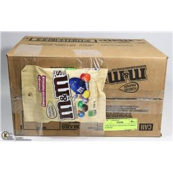 CASE WITH 24 110G BAGS OF M&M'S ALMOND