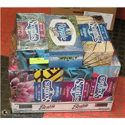 KLEENEX/SCOTTIES- LOT OF 14 BOXES