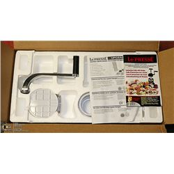 NEW IN BOX GOURMET FOOD STYLER & MACHINES IN ONE