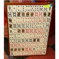 """VINTAGE MYSTERY CARD GAME MINUS ALL """"J""""'S"""