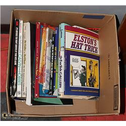 BOX OF 16 COMIC AND COMEDY BOOKS