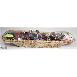22 INCH LONG DECORATIVE BASKET FULL OF