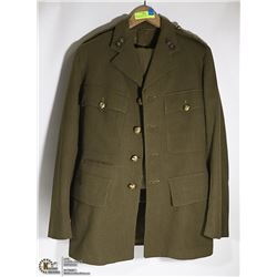 WW2 OFFICERS LIGHT CORPORALS UNIFORM WITH PANTS