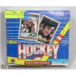 TOPPS 1991 HOCKEY PICTURE CARDS