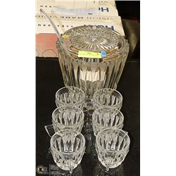 WALTHER CRYSTAL 9 PIECE SET