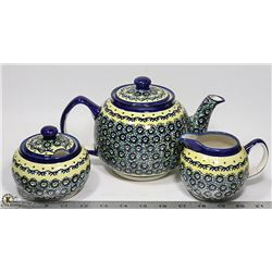 NEW TEA SET MADE IN POLAND