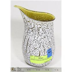 ANTIQUE HAND BLOWN GLASS JUG