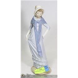 PORCELAIN GIRL 12.5 INCHES