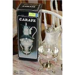 SILVER PLATED CARAFE