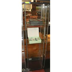 GLASS DISPLAY CABINET - 4 TIER