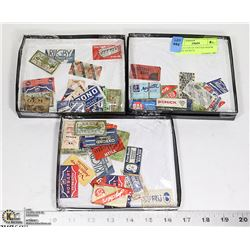 COLLECTION OF VINTAGE RAZOR BLADE PACKETS
