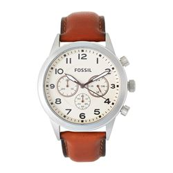 NEW FOSSIL TRIPLE CHRONO PILOT 43MM WATCH