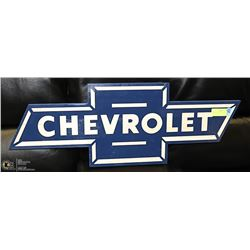 "30"" WIDE CHEVROLET SIGN"