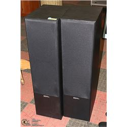 SET OF SOUND DYNAMICS R-818 TOWER SPEAKERS