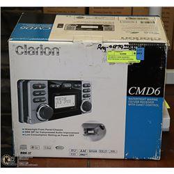 CLARION CMD6 MARINE / WATERTIGHT AUDIO SYSTEM