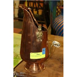 "12""TALL COPPER PITCHER"