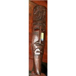 OMA AFRICAN MASK GOOD LUCK MASK WOODEN WALL HANGIN