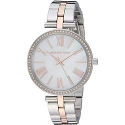 NEW MICHAEL KORS PETITE NORIE 34MM WATCH MSRP $310