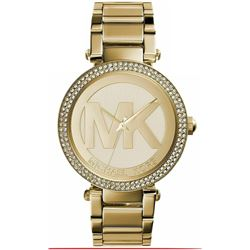 NEW MICHAEL KORS PARKER GOLD PLATED CHAMPAGNE
