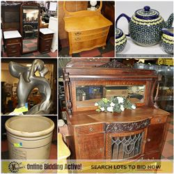 FEATURED ANTIQUE STORE CLOSURE AND MORE...