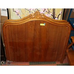PAIR OF ANTIQUE SINGLE HEADBOARDS (TOGETHER