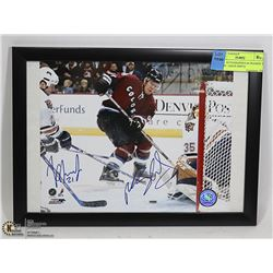 DUAL  AUTOGRAPHED & FRAMED  8 X 10 BY: JASON SMITH