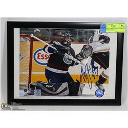 ROBERTO LUONGO AUTOGRAPHED 8 X 10 FRAMED PHOTO W/