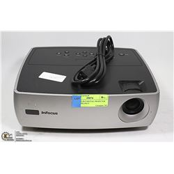 INFOCUS DLP DIGITAL PROJECTOR LOW HOURS ONLY.