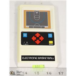 ELECTRONIC BASKETBALL GAME HAND HELD VINTAGE