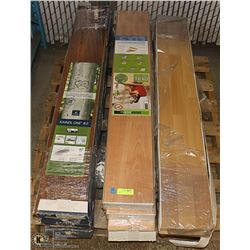 LOT OF LAMINATE FLOORING INCL. 5 BOXES OF