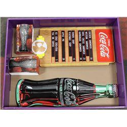 COCA COLA MENU BOARD,METAL COKE SIGN,COKE GLASSES