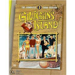COMPLETE 3RD SEASON GILLIGANS ISLAND DVD SET