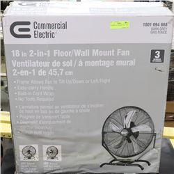 COMMERCIAL ELECTRIC FAN - NEW