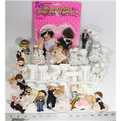 BRIDE AND GROOM COUPLE COLLECTIBLES