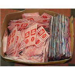 POPCORN BOXES ALMOST 26 DOZEN PLUS 6 DOZEN TABLE