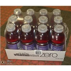 CASE WITH 12 BOTTLES ACAI BLUEBERRY VITAMIN WATER