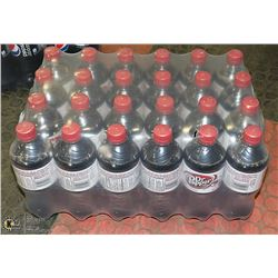 CASE WITH 24 BOTTLES DIET DR PEPPER PAST