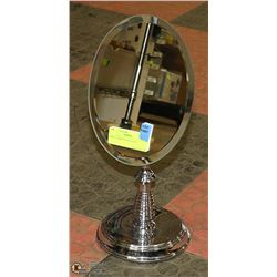 SMALL MIRROR ON STAND