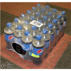 CASE WITH 24 BOTTLES PEPSI COLA PAST BEST BEFORE