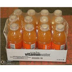 CASE OF ORANGE VITAMIN WATER PAST BEST BEFORE
